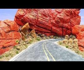 Red Rock Diorama | Landscape