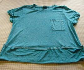 Hem Knits Maintaining Original Cover Stitch