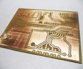 PCB Making (My Method)
