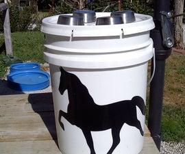 Bucket Solar Light & Storage Container SUPER EASY