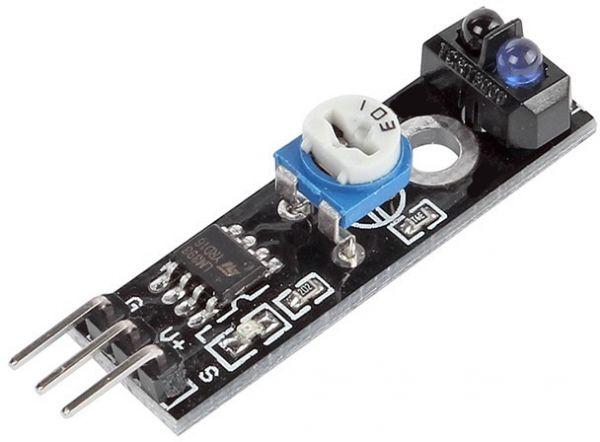Picture of Line Following Adjustable/custom IR Sensor Panel