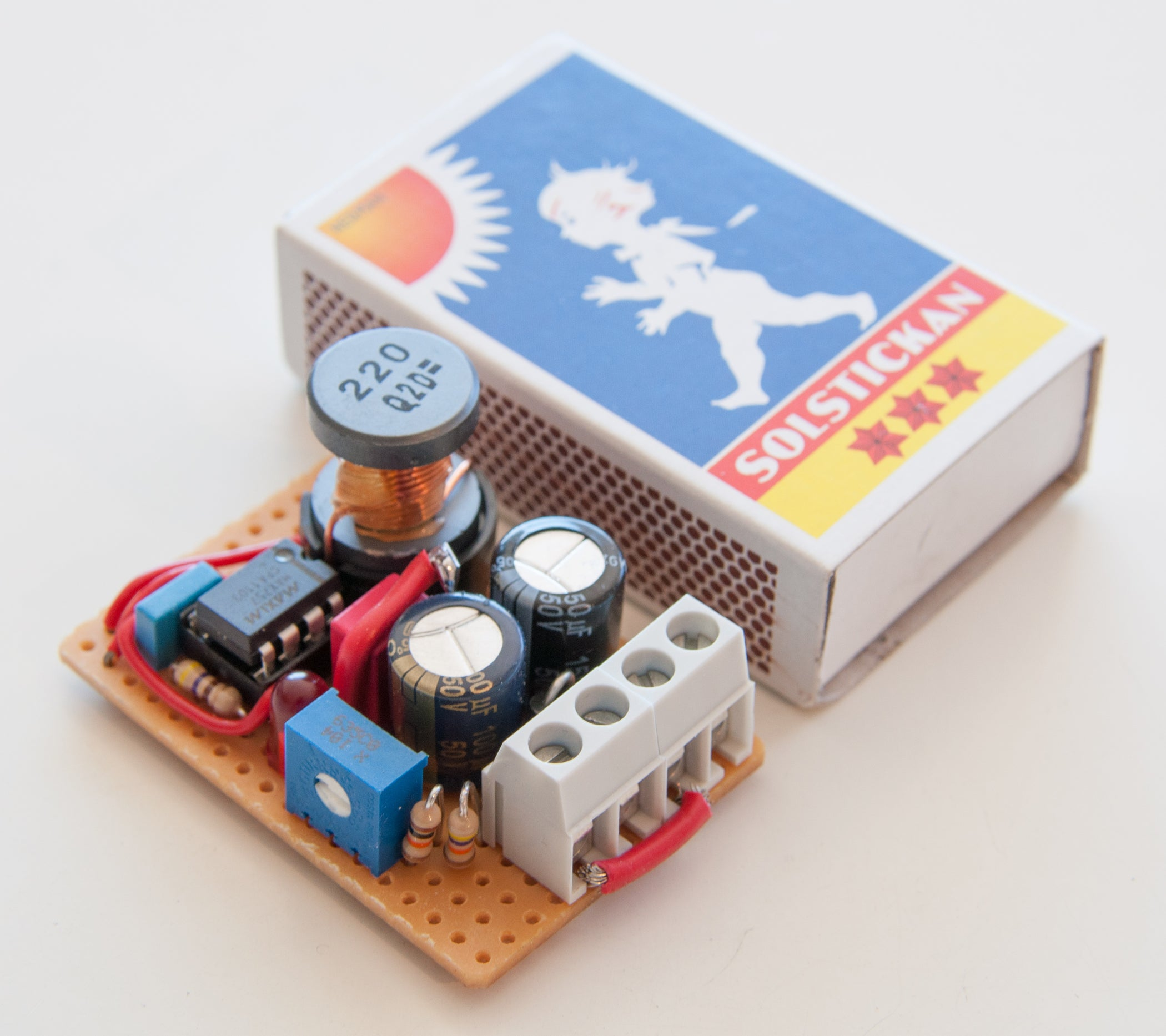 Adjustable Voltage Step Up 07 55v To 27 5 Steps With Solar Battery Charger Circuit Diagram Also 12v 500ma Charge Pictures