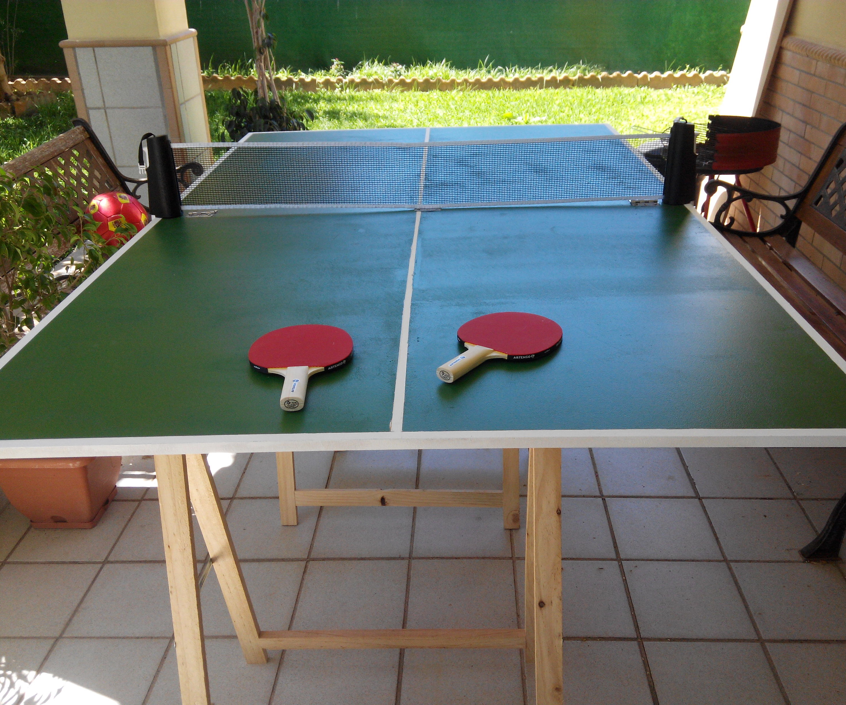 - Easy Folding Ping-pong Table : 4 Steps (with Pictures) - Instructables