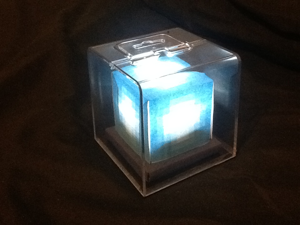 Picture of LED Minecraft Beacon