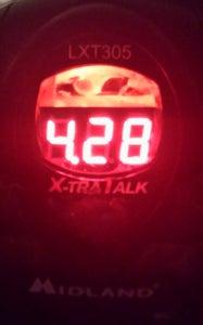 Update!  Voltage Display