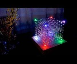 8x8x8 RGB LED-Cube