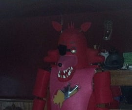 DIY Animatronic (Foxy From Five Nights at Freddy's)