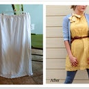 DIY Skirt to Dress Refashion