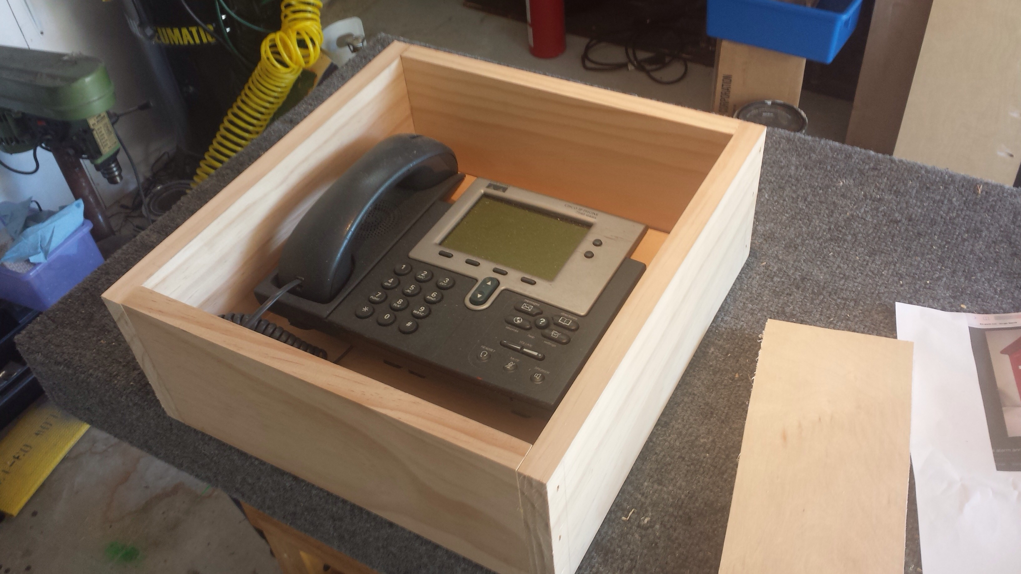 Picture of Making the Box.