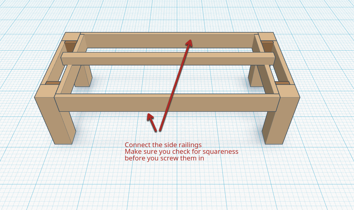 Picture of Attach the Side Railings (Side Joiners)
