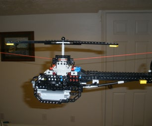 Lego Helicopter - String Flyer