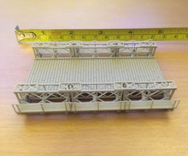 Building a 1:100 Scale Bailey Bridge