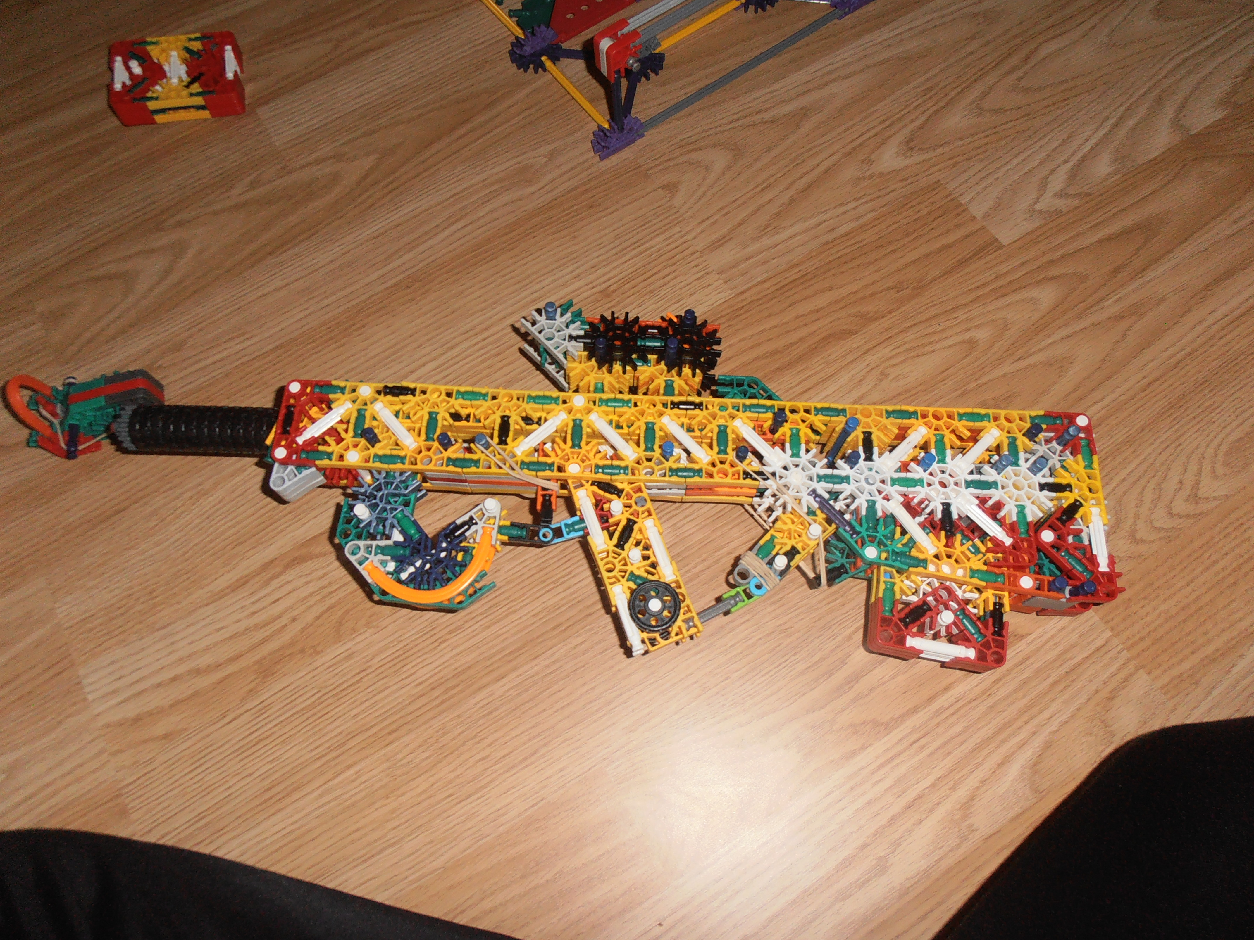 Picture of K'nex Magpul PDR Instructions