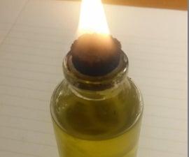 Mini Flaming Oil Lamps