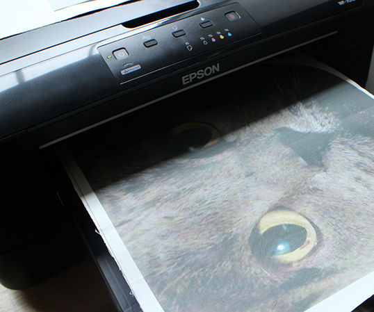 How to Print Fabric at Home