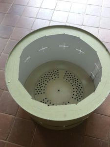 Mini Incinerator From Old Clothes Dryer Drum