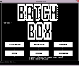 How to hack with batch