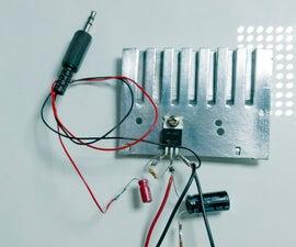 Audio Amplifier | Simple & Powerful