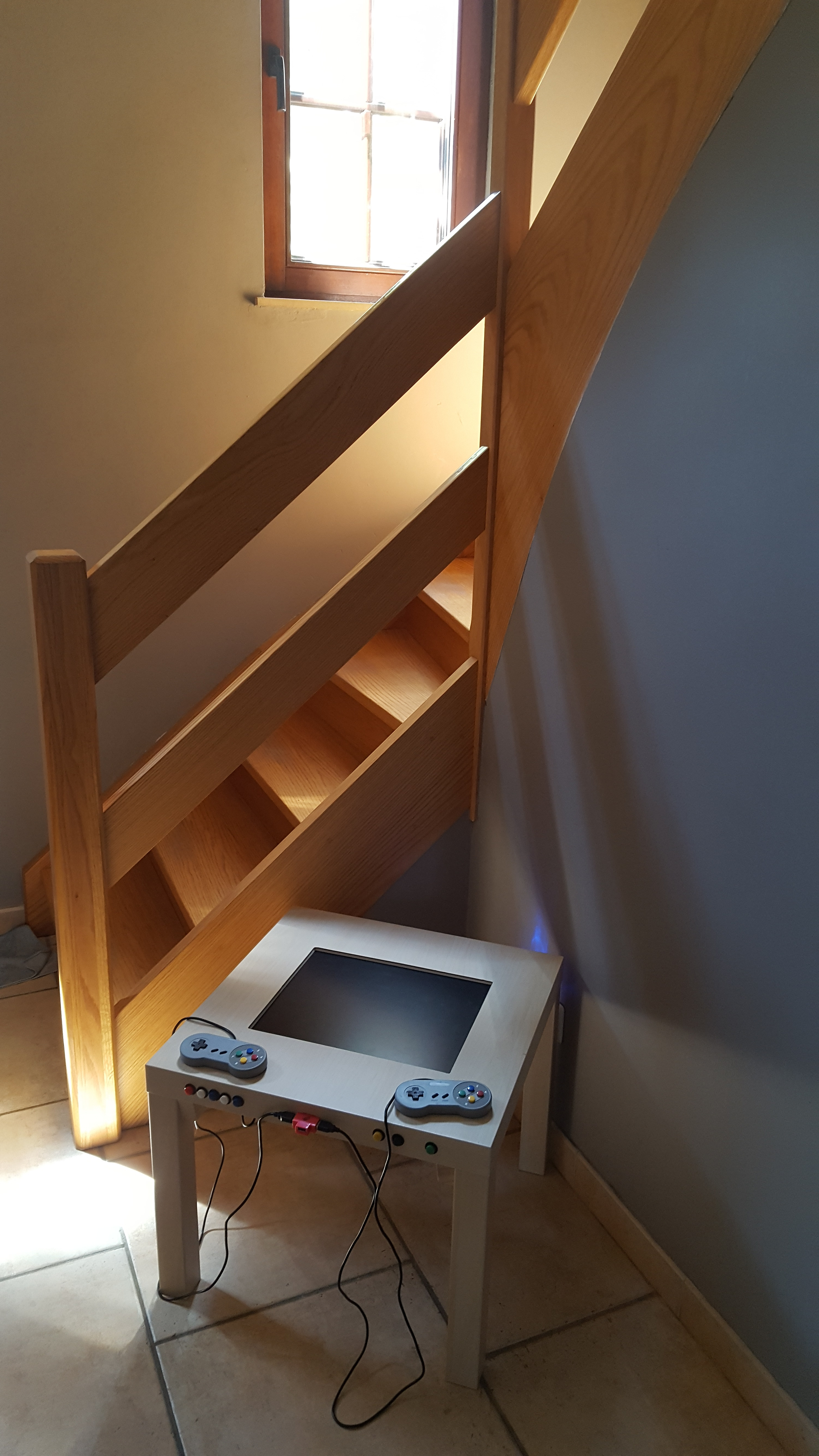 Picture of Cheap Retro Gaming Arcade Table With Integrated Display