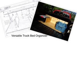 How to Build a Truck Bed Organizer