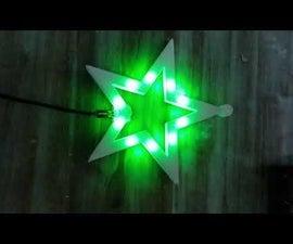 Christmas Star LED Neopixel Arduino Attigny85 Digispark