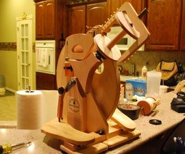 Merlin Tree Spinning Wheel Dis-assembly and Re-Assembly