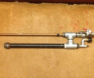 High Pressure Piston Valve Air Cannon