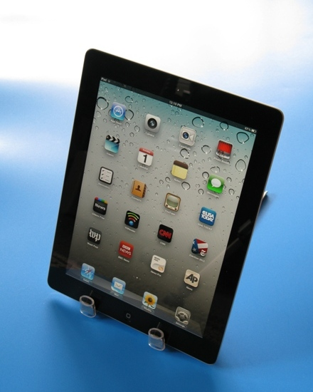 Picture of IPad Stand From Shelf-track Material