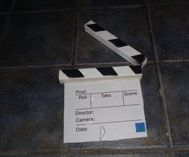 How to Make a Clapperboard