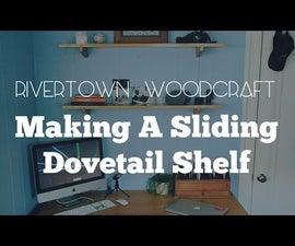 Sliding Dovetail Shelving