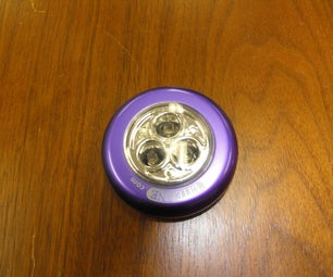 Make a Lighted Button Out of an LED Puck Lamp