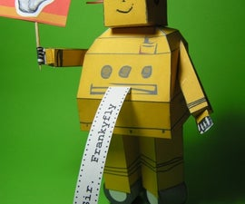 Instructables paper ROBOT by Frankyfly