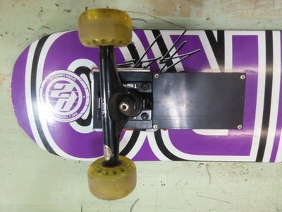 Bolt on Both Both Trucks on Your Board