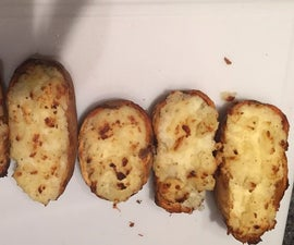 Homemade Twice Baked Potatoes