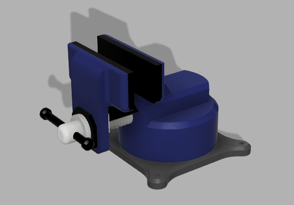 Picture of 3D-printable Vise in Fusion360