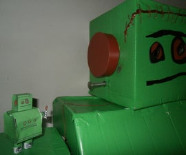 Lifesize Frankenbot Costume (Cheap and Easy)