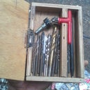 kotak mata bor (drill organizer box)
