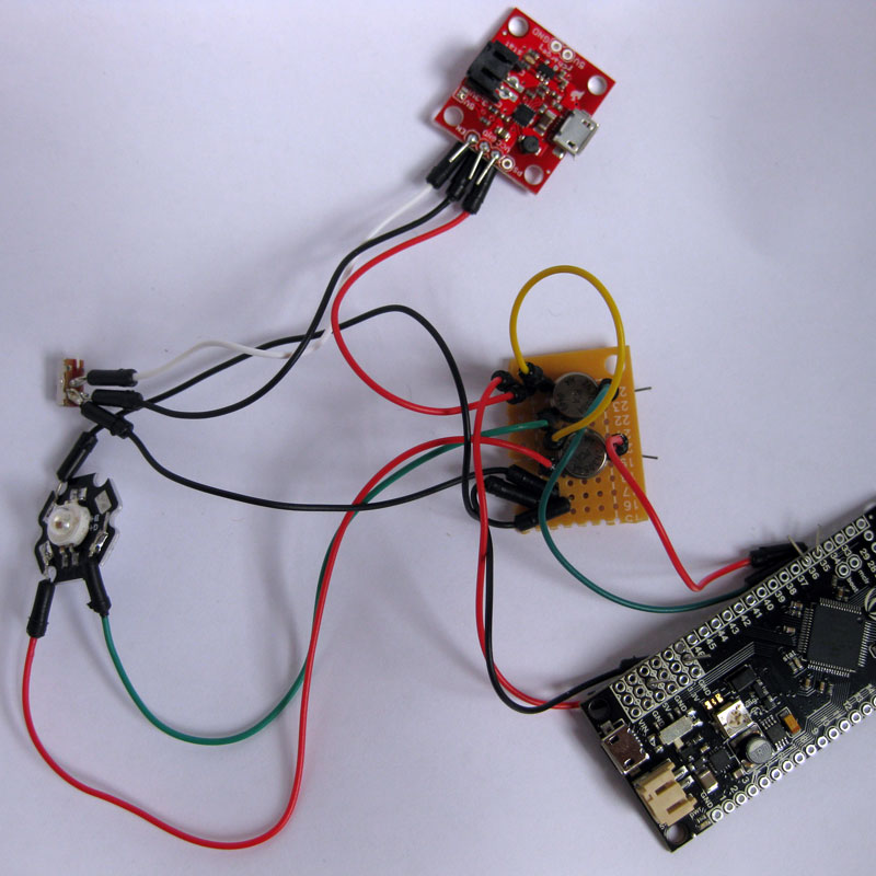 Picture of Connecting the RGB LED