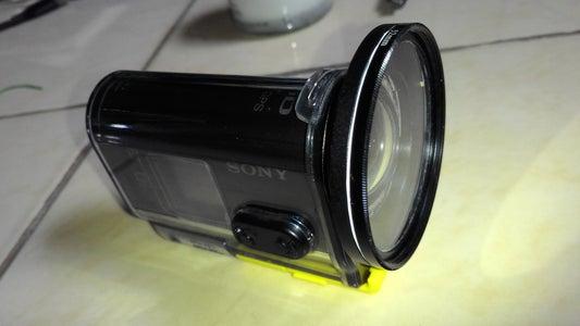 Sony Action Cam Diy Flat Lens for Spk-as2