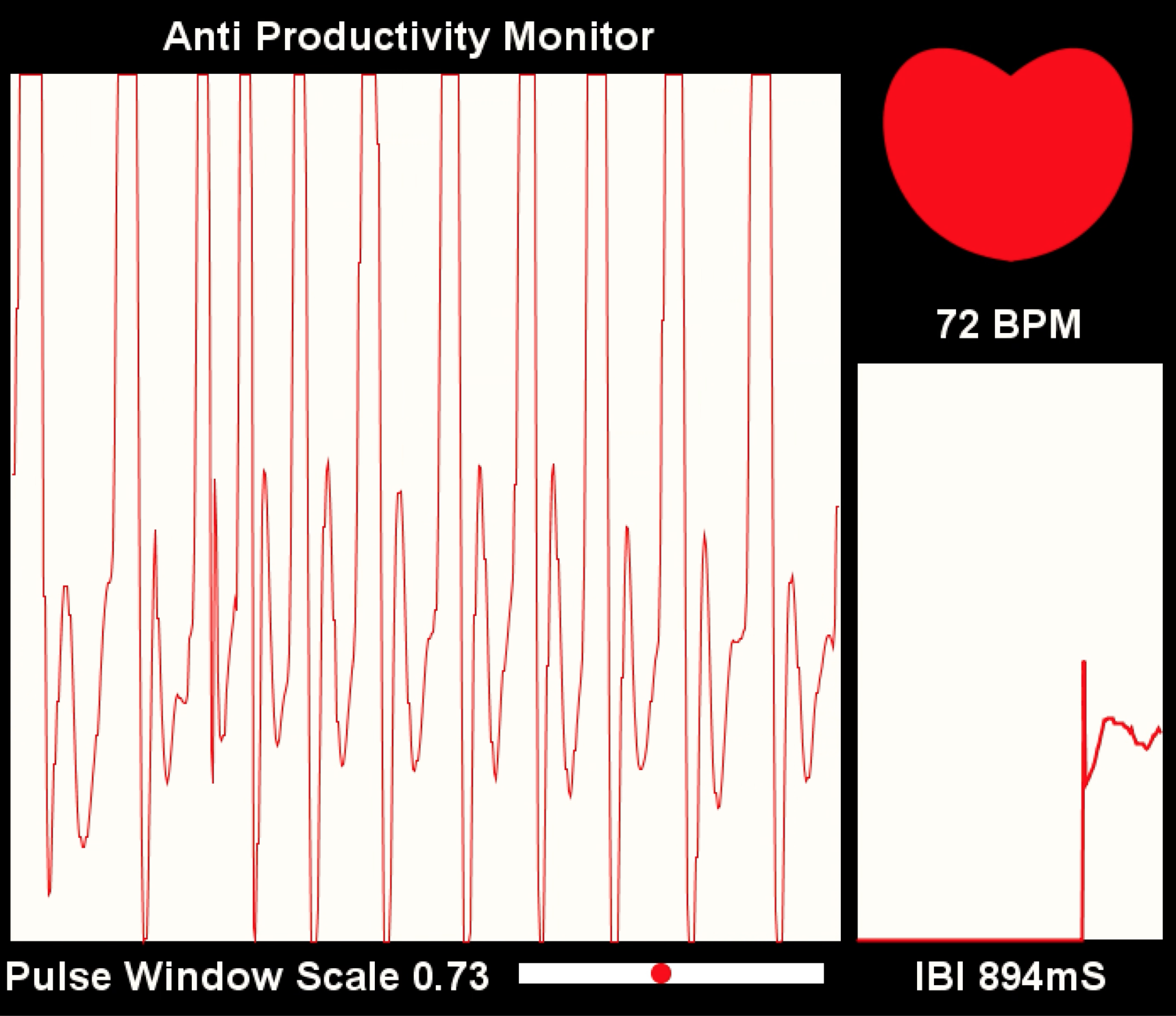 Picture of Customizing PulseSensor Visualizer to Trigger Event (Anti-Productivity Monitor)