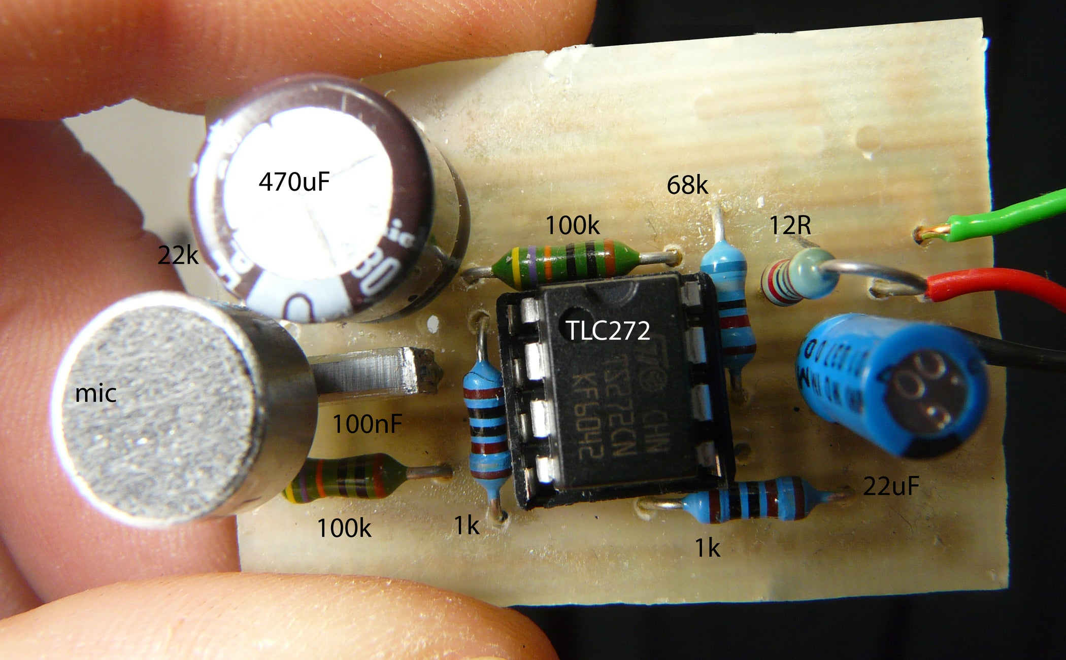Sound Pressure Sensor For Arduino Based On Zx Board Level Meter Electronics Circuits You