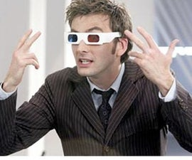 Doctor Who Tenth Doctor's 3D glasses