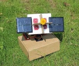 Arduino sunflower - An electronic sundancer