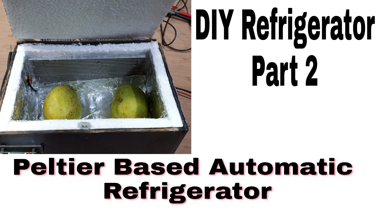 Picture of Home Made Refrigerator With Smart Control Functionality (Deep Freezer)