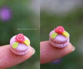 Miniature Macaron - Polymer Clay