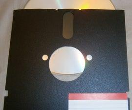 5.25 inch floppy disk CD case