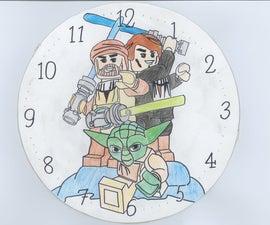 LEGO Star Wars Wall Clock