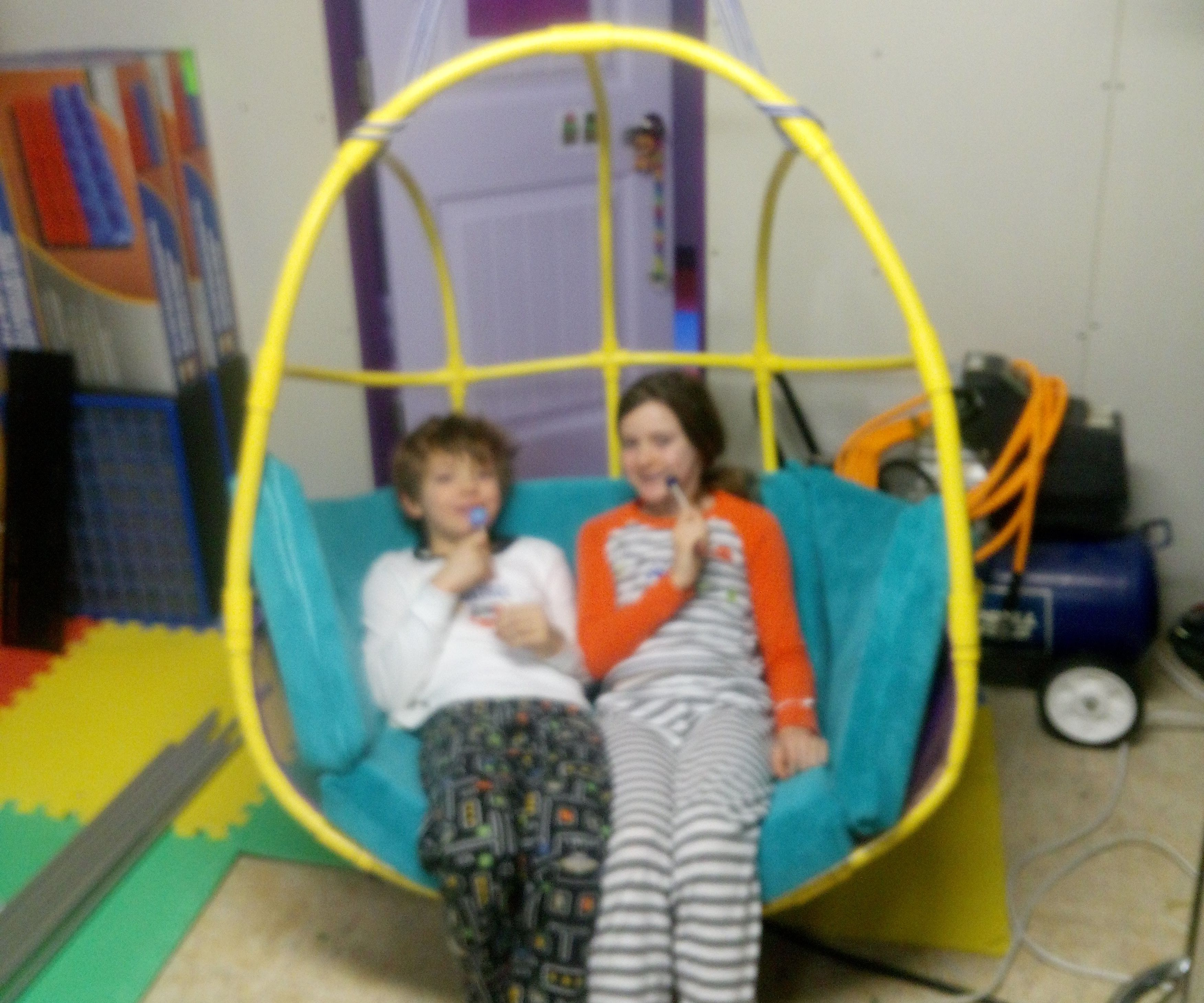 Brilliant Pvc Hanging Chair 3 Steps With Pictures Theyellowbook Wood Chair Design Ideas Theyellowbookinfo