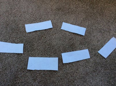 Cutting Out the Paper for Your Happy Thoughts