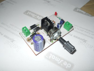 LM317T Variable Voltage Power Supply